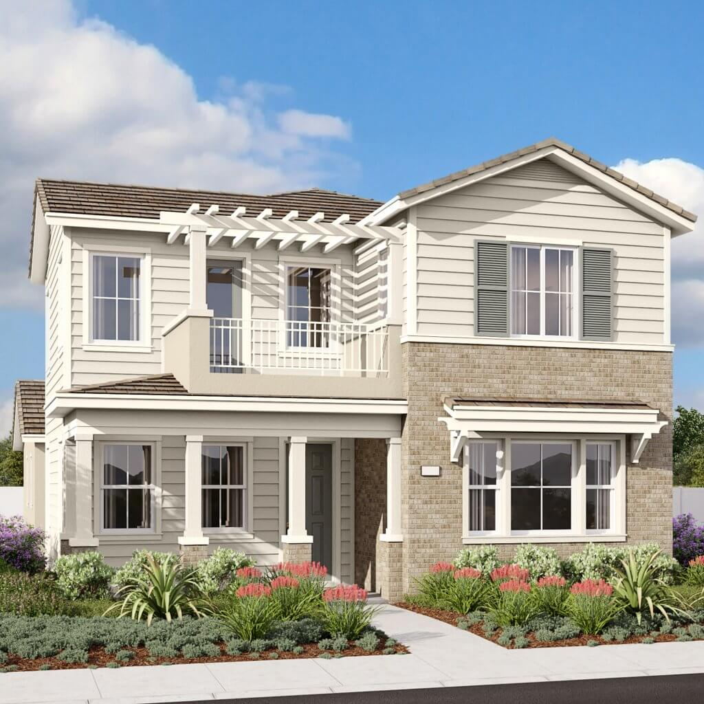 park circle beazer homes the porches home rendering